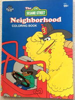 Merrigold press neighborhood coloring book 1994