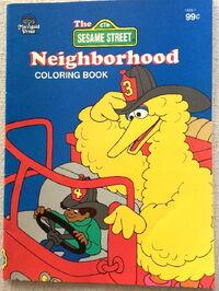 Merrigold press neighborhood coloring book 1994