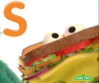 Ssalphabet-sandwich