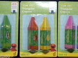 Sesame Street crayons (Toy Island)