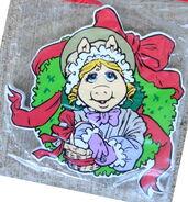Kurt adler muppet christmas carol wreath miss piggy