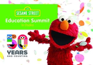 Sesame Street Education Japan graphic