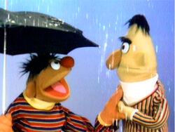 Ernie Bert umbrella