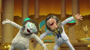 MuppetBabies-(2018)-S&W-Pharao&Mummy