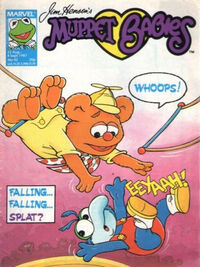 Muppet babies weekly uk 22 aug 1987