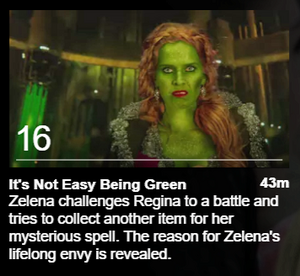 Once Upon a Time It's Not Easy Being Green