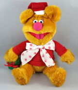 Tycoon enterprises 2002 fozzie christmas santa plush 1