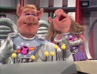 222 pigs in space