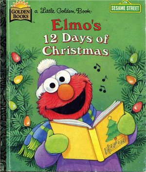 elmos 12 days of christmas - 12 Days Of Christmas Book