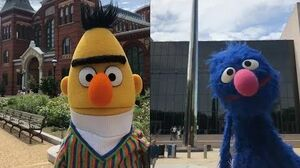 Grover and Bert at Smithsonian 2019