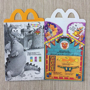 Muppet Babies Happy Meal box 04b