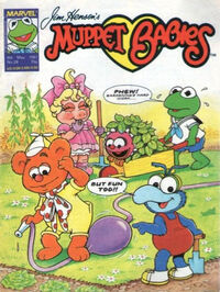 Muppet babies weekly uk 9 may 1987