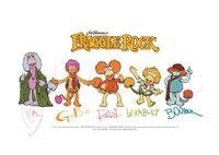 Poster Fraggle Rock-Fraggle Rock Signatures