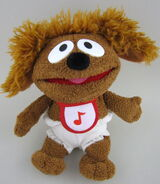Toy play beanbag baby rowlf