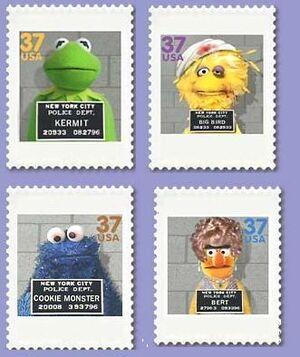 Conan Muppet mug shots