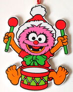 Kurt adler flat muppet babies christmas ornament animal