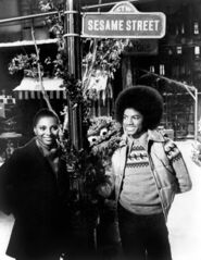 Leslie Uggams Michael Jackson Oscar the Grouch Special Sesame Street Christmas