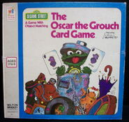 Milton bradley 1976 oscar the grouch card game 1