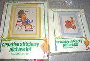 Vogart 1979 creative stitchery picture kits
