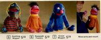 1973 finger puppet knickerbocker puppet ad