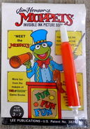 Lee publications 1988 meet the muppets invisible ink magic pen book 1