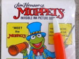 Muppet Invisible Ink Painting Books