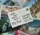 Big Bird's Video Postcards