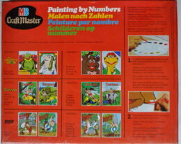 Craft master 1977 paint by number set 2
