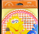 Sesame Street party invitations (Drawing Board)