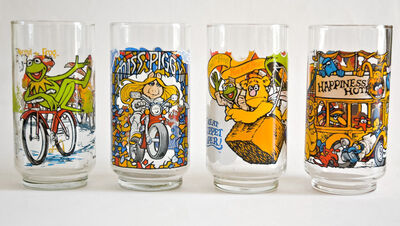 McDonalds Caper glasses