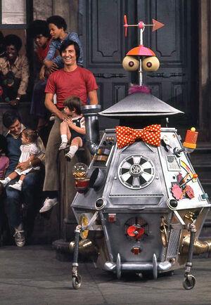 Sam the robot sst