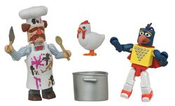 Stunt-Show-Gonzo-and-Batter-Damaged-Swedish-Chef-Muppets-Minimates