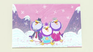 Summer Penguin's family MB2018-114