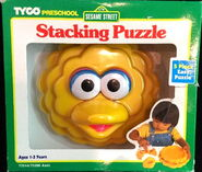 Tyco 1996 stack puzzle big bird