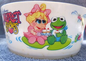 Deka 1986 muppet babies bowl and cup 2
