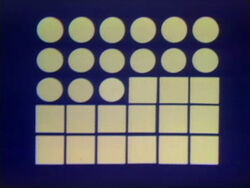 Dot Bridge 14 squares dominate