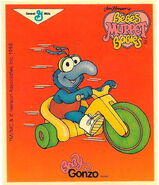 General mills cereal 1988 baby gonzo card