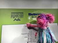 Center for Puppetry Arts - Grand Opening - Abby Cadabby 02