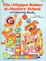 Muppet Babies Coloring Books Muppet Wiki Fandom Powered By Wikia