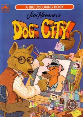 Dogcitycbook A Dog City Coloring Book