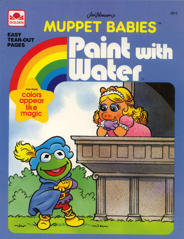 File:Golden muppet babies paint with water.jpg