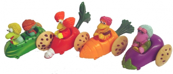 Image result for Happy Meal fraggle rock