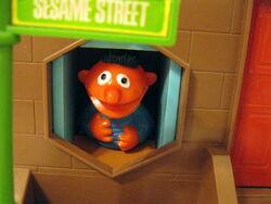 Questor child guidance 1974 push button sesame street 3