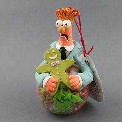 Sherwood brands beaker claydough ornament 1