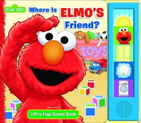 Where is elmo's friend