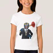 Zazzle gonzo plunger shirt