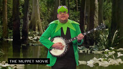Corden as Kermit