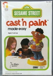 Friends cast 'n paint erne