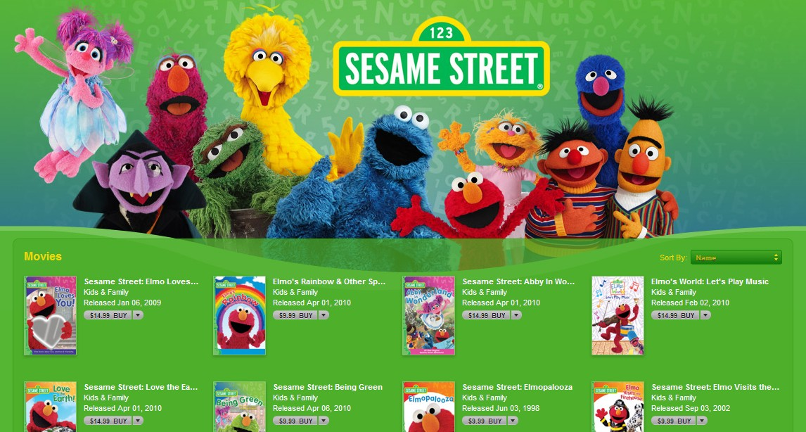 The iTunes Store | Muppet Wiki | FANDOM powered by Wikia