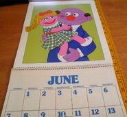 Sesame 1981 poster calendar 7